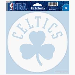 NBA Boston Celtics 8 X 8 Die Cut Decal   Shamrock Style