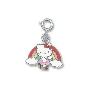 Licensed ?? Sanrio Hello Kitty Rainbow Cloud Charm with