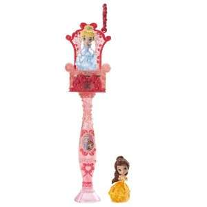 Disney Princess Magical Minis Cinderella and Belle Wand: Toys & Games