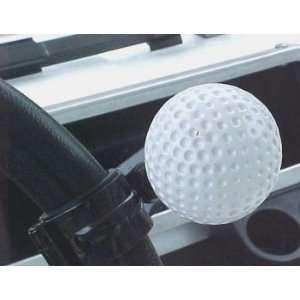 Golf Ball Steering Wheel Spinner for a Golf Cart Steering