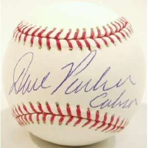 Dave Parker Signed MLB Basball w/Cobra