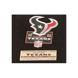 NFL Pin   Houston Texans NFL Puzzle Pin Set Sports