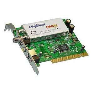 IOFlex PCI to TV and FM Radio Tuner, with Video Capture