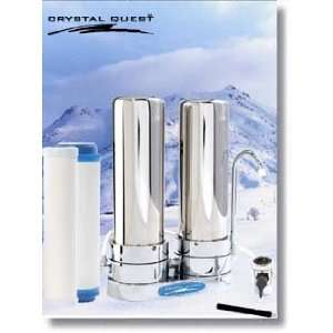 Stage Stainless Steel Ceramic Countertop Water Filter