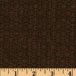 Dolls Textured Floral Brown Fabric By The Yard: Arts, Crafts & Sewing