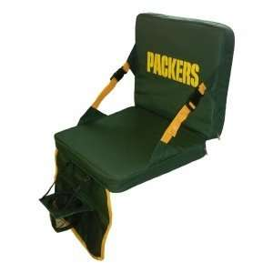 Folding Stadium Chair Seat with CUP HOLDER & POCKET Sports & Outdoors