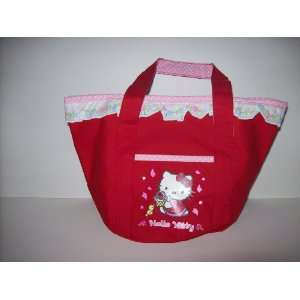 Hello Kitty Red Mini Tote Childrens Bag Toys & Games