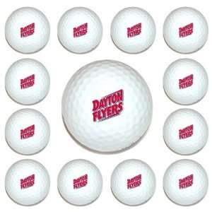 Dayton Flyers Team Logo Golf Ball Dozen Pack   Golf