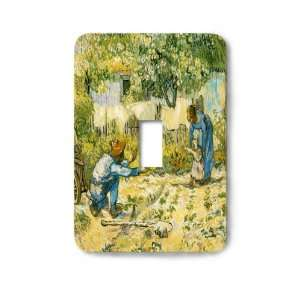 Van Gogh First Steps Decorative Steel Switchplate Cover
