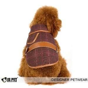 Is Pet Designer Dog Apparel   Horseman Checkered Coat