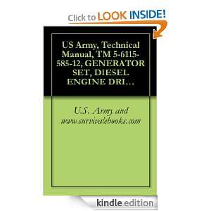US Army, Technical Manual, TM 5 6115 585 12, GENERATOR SET, DIESEL
