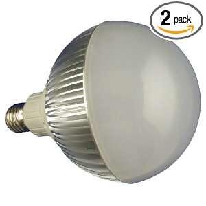E27 2 Dimmable High Power 12 LED Par38 Lamp, 17 Watt Cold White, 2
