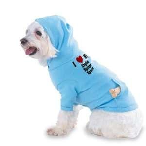 I Love/Heart English Springer Spaniel Hooded (Hoody) T