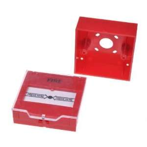 Red Resettable Manual Call Point Fire Alarm Pull Station