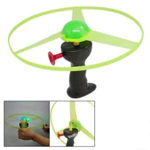 Funny Red Blue Green LED Light Up Flying Disc Toy Toys & Games