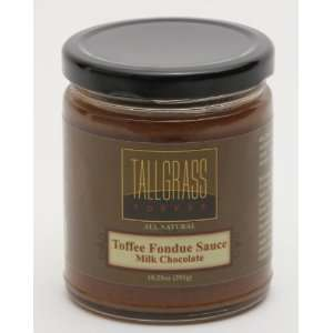 2 pack Milk Chocolate Toffee Fondue Sauce: Kitchen