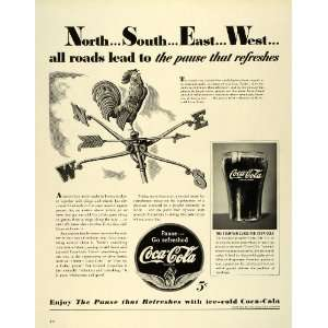 1941 Ad Coca Cola Coke Soda Pop Fountain Glass Agriculture