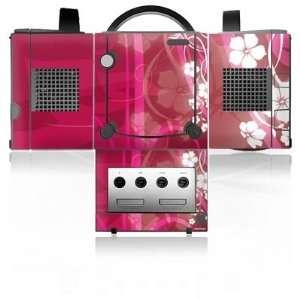 Design Skins for Nintendo Gamecube   Pink Flower Design