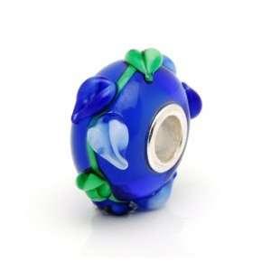Lampwork Glass Bead Fit Pandora Chamilia Biagi Trollbead Bracelet