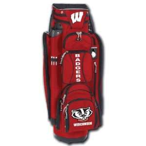 College Licensed Golf Cart Bag   Wisconsin Sports