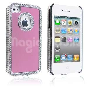 Pink / Silver Rhinestone s*Gratis Stylus*: Cell Phones & Accessories