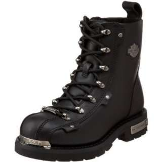 Harley Davidson Womens Tyre Motorcycle Boot Shoes