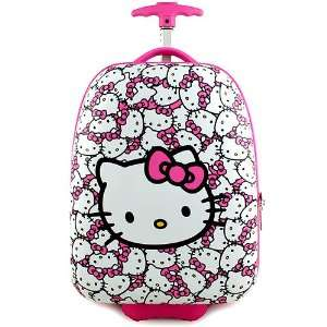 Hello Kitty Hardshell Rolling Luggage Case [Pink]: Toys & Games