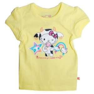 tokidoki X Hello Kitty Mozzarella Yellow T Shirt For Infant / Toddler