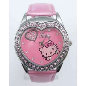 Miss Peggy Jos   Hello Kitty Heart Shape Quartz Watch bezel Is About
