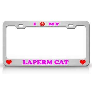 I PAW MY LAPERM Cat Pet Animal High Quality STEEL /METAL