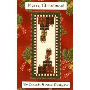 Merry Christmas Table Runner Pattern By The Each Arts