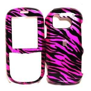 Hot Pink Zebra Design Snap on Hard Protective Cover Case