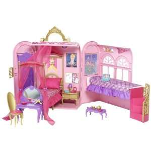 Barbie Princess Charm School Princess Playset  Toys & Games