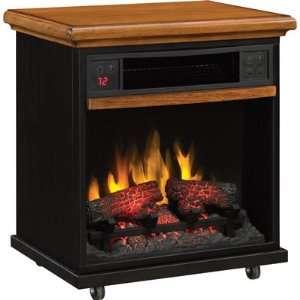 Duraflame Portable Infrared Quartz Fireplace   1500 Watts
