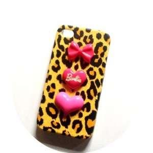 Barbie Love Heart Kawaii Decoden Iphone 4 /4s Case Electronics