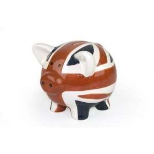 Large Union Jack Piggy Bank Money Box [Kitchen & Home]