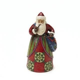 Jim Shore Heartwood Creek from Enesco Santa Deck the Halls 9 3/4 Inch