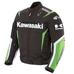 Joe Rocket Mens Kawasaki Replica Supersport Motorcycle Jacket
