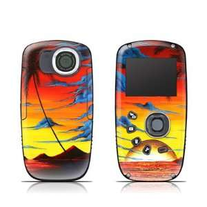 Tropical Bliss Design Protective Skin Decal Sticker for Kodak