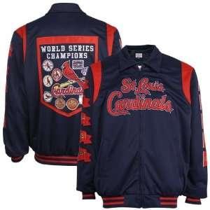 Louis Cardinals World Series Pennant Varsity Jacket