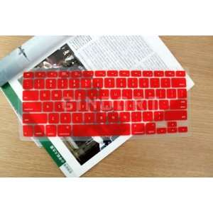 Silicone Keyboard Cover for Apple Macbook Air 11 Red