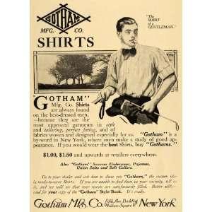 1911 Ad Gotham Manufacturing Company Shirts Mens Style