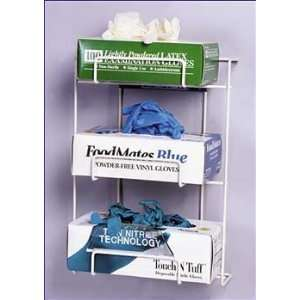Medical Exam Glove Dispenser Rack   Beige   1 Item