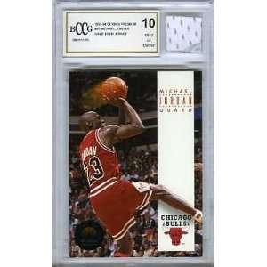 Michael Jordan Chicago Bulls Game Used Jersey Graded BGS BECKETT 10