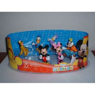 Disney Mickey Mouse Clubhouse Figure Play Set    6 Pc.