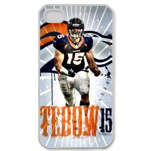 Designed iPhone 4/4s Hard Cases Broncos team logo Cell