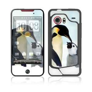 Happy Penguin Protective Skin Cover Decal Sticker for HTC