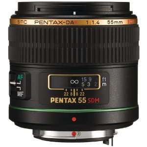 PTX21790 PENTAX 21790 DA 55MM F/1.4 SDM LENS: Camera & Photo
