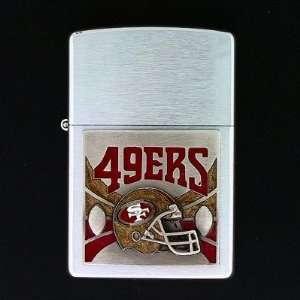 NFL San Francisco 49ers Large Emblem Zippo Lighter