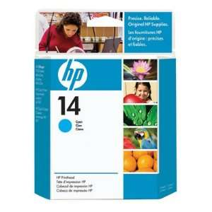 Hewlett Packard 14 Printhead Cyan High Quality Practical